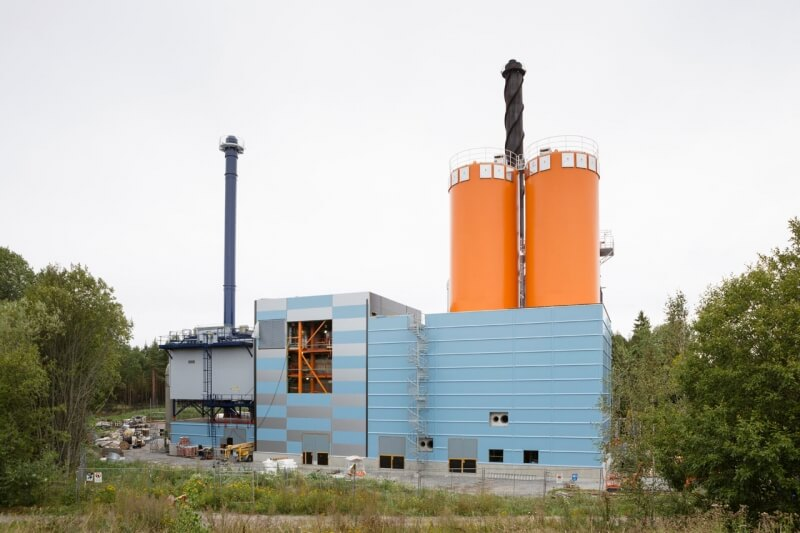 Bioenergy heating plant, Turku
